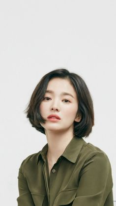 Pin by ally gee on Character design in 2020 Girl Short Hair, Short Girls, Short Hair Cuts, Hair Inspo, Hair Inspiration, Song Hye Kyo Style, Shot Hair Styles, Hair Reference, Dream Hair