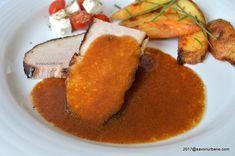 Sos pentru friptura reteta pas cu pas | Savori Urbane Pork Recipes, Cornbread, Carne, Barbecue, Cooking, Ethnic Recipes, Dressing, Drink, Pork