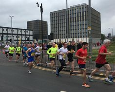 Went for a run this morning and found my route cut short due to the Men's 10k race. So I stopped and cheered them on for half an hour :) #running #race #mens10k #thismancan #thisgirlcan #glasgow #thinkofthemedal