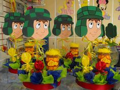 Chavo del Ocho Party ~ Decorations ~ Centerpiece