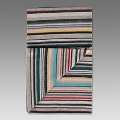 Paul Smith men's scarves, crafted from silk, warm wool and cashmere, available in stripe options and striking seasonal prints. Striped Scarves, Striped Knit, Silk Scarves, Yarn Inspiration, Paul Smith, Cashmere, Wool, Knitting, Prints