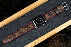203d30b2f38a 15 Best Upcycled Louis Vuitton Apple Watch Collection images