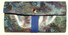 parte trasera de la cartera cachemir. www.cueroarte.com