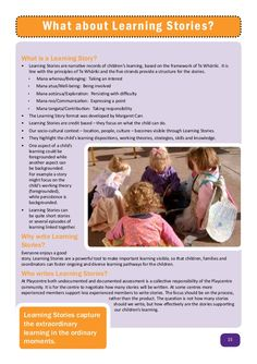 Image result for ECE learning stories free template