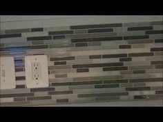 ▶ Detailed How To DIY Backsplash Tile Installation - YouTube