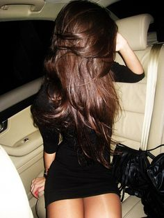 Love this brown hair color.