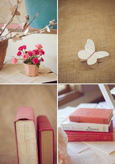Cute paper butterflies
