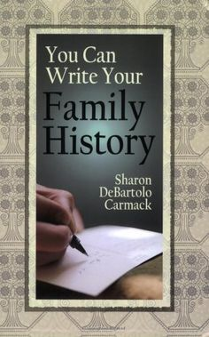 You Can Write Your Family History by Sharon Debartolo Carmack, http://www.amazon.com/dp/0806317833/ref=cm_sw_r_pi_dp_-32zqb0M4FKW2