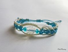 #Bluebracelet  #bigbeadbracelet  #bracelet for by TidalFantasy