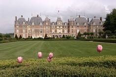CHATEAU DO CONDE D EAU - Onde ficaram hospedados os integrantes da familia real brasileira no exilio
