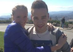 She got right up in there.  Twitter / 1DUpdatesOnline: Liam with a fan today in Norway! ...