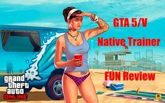 GTA 5 Native Trainer Fun Review& Fun Fun Fun and Tranier vs Grand Theft Auto, Gta 5, Nativity, Trainers, Family Guy, Fun, Laptop, Tennis, The Nativity