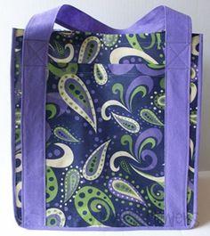 Shopping bag sewing tutorial