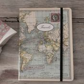 Image of Libreta World map mediana  www.mrwonderfulshop.es