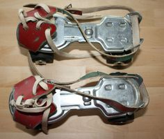 I had these roller skates as a kid! They strapped onto your shoes.