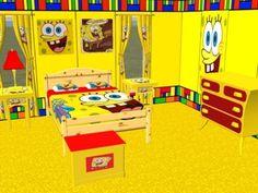 Complete SpongeBob Bedroom Set!