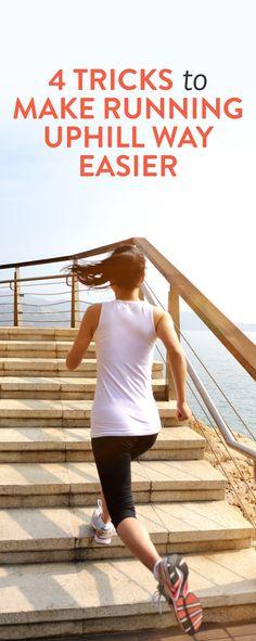 4 tricks for running uphill