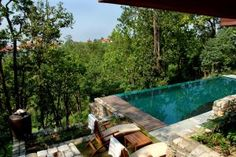 Ananda in the Himalayas, India - A private pool in your vill with such a view...#TemptingPlaces #BestPools