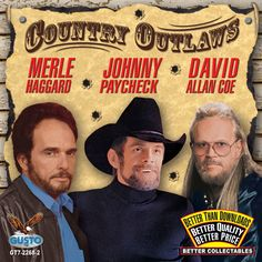 Country outlaws refers to the Country music artists that first emerged in the late 1960's in Nashville.