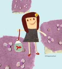 pepar collage by natsuko kawatsu Mixed Media Collage, Collage Art, Graphic Design Illustration, Illustration Art, List, Kids Rugs, Kawaii, Cool Stuff, Paper