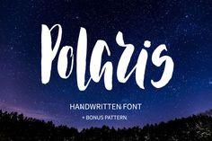 Polaris Brush Font - Script