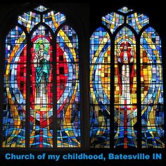 glass for church and pinterest | Stained glass windows of my childhood church - ... | Beautiful Staine ...