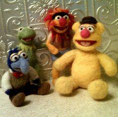 The Muppets Needle Felted freaking amazing!
