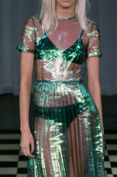 Antipodium SS14, via WGSN , accessed 21/10/13 - love the see through fabrics.