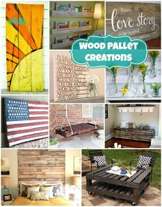 Wood #Pallet Projects