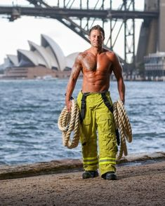 """I'm not Mad About it... Its for Charity! """"Each year, NSW fireies strip for the Firefighters Calendar, donating all proceeds to the burns unit at Westmead Children's Hospital. 