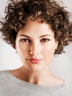 Lovely Short Curly Hairstyles