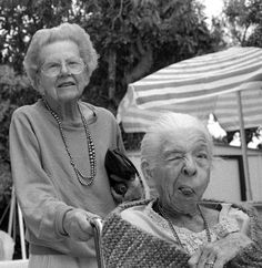 """Photo: """"Old People Are Cute"""" / photographer: unknown, via balticlapse"""