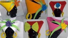 Imágenes de gorros de goma eva - Imagui Crazy Hats, Mad Hatter Tea, Mardi Gras, Party Time, Tea Party, Costumes, How To Make, Diy, Crown