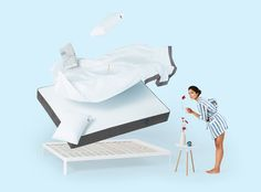 Casper - The perfect mattress, sheets and pillows for everyone - Live the Dream -- 100 NIGHT TRIAL, FREE RETURN PICKUP Sleep on it, lounge on it, dream on it — if you don't love it, we'll pick it up and give you a full refund. No springs attached. - https://casper.com/mattresses