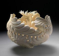Jennifer McCurdy - carved porcelain
