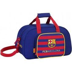 Bolsa de deportes FC Barcelona Bolsa de deportes con bolsillo lateral  Correa desmontable y regulable Doble 9bb3cc9e5fe