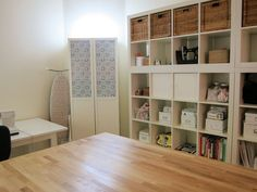 Great sewing room make over