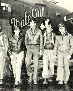 Captain James Stewart, 445th Bomb Group, 1943