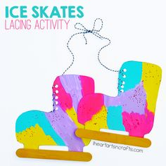 I'm always looking for quick and easy crafts for the kids, and these colorful ice skates are one of my favorites.This is a great activity for little hands to practice their small motor skills and it makes a great winter craft! This post contains affiliate links. Please see my disclosure policy. Materials Needed: Card Stock …