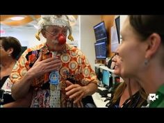 Patch Adams and clowns spreading laughter at hospital | How To Improve Your Life…You Can Do It!