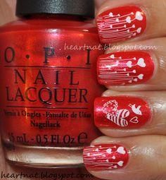 Uñas decoradas de San Valentín - Love Nails   Decoración de Uñas - Manicura y NailArt - Part 2