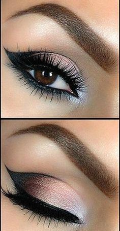 Tutorial: Beautiful Smokey Eye Makeup. Click on the image for the Tutorial!