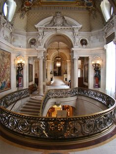 The Hall of Honour, Château de Chantilly, Chantilly, France