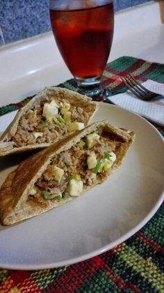 Pan Pita Integral + Ensalada de Tuna