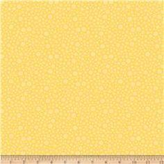 Riley Blake Fancy Free Fancy Dots Yellow