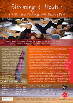Slimming & Healthy Diet Yoga Workshop with Delamay Devi.