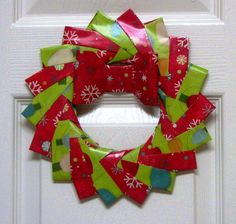 Modular 18 piece braided wreath - instructions (bow not included)