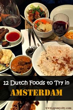 Want to taste the traditional Dutch foods in Amsterdam, but do not know what they are and where to eat them? This Amsterdam food guide has the answer for you.