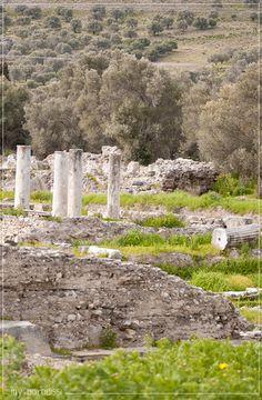 Antiquities of Minoan Gortyna in Crete