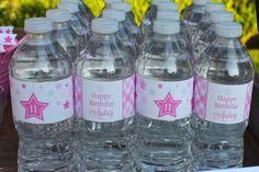 Under the Stars Tween / Teen Girl Birthday Party via Karas Party Ideas #star #sparkle #tween #pink #girl #birthday #party #idea (38)